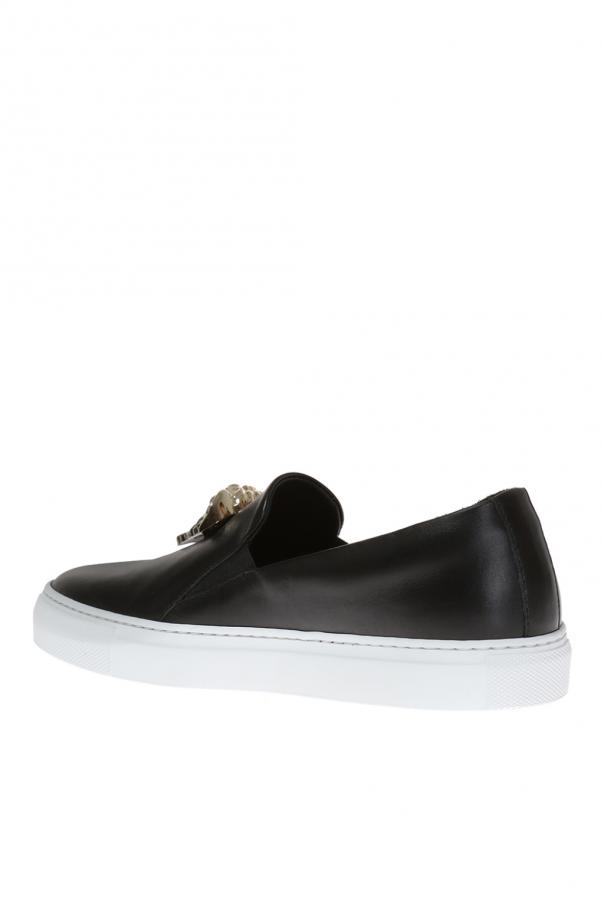 Medusa head slip-on sneakers od Versace